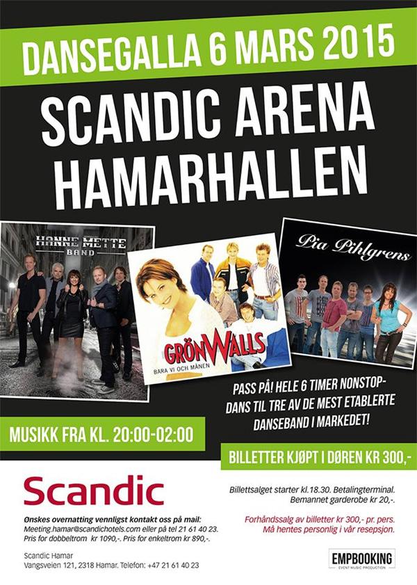 Grönwalls på dansgala i Norge