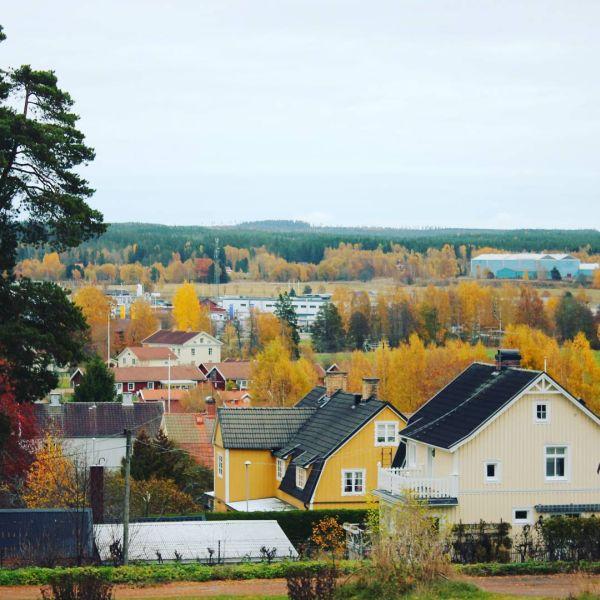 Utsikt frå nedlagda Folkets Park i Kristinehamn. #kristinehamn #folketspark
