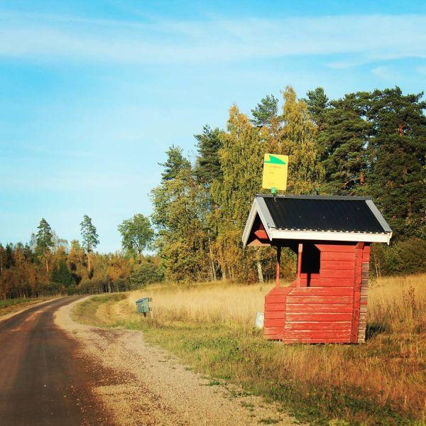 Ute på landet i Ö. #kristinehamn #ö #vä @varmlandstrafik
